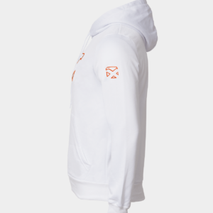 Court Hoodie- white (OR)