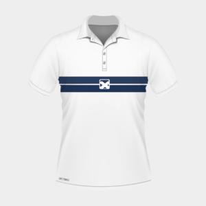 Team Pro Polo- white (NY)