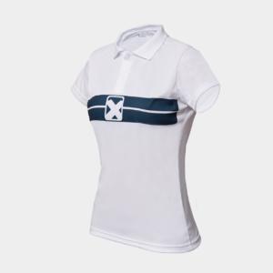 Team Pro Polo Women- white (NY)